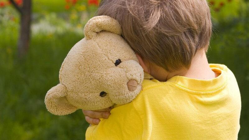 Kinder trauern auf eine andere Art und Weise