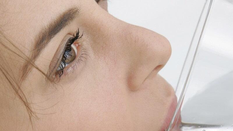 Weniger Hautunreinheiten durch gesunde Ernährung und gesunden Lebensstil