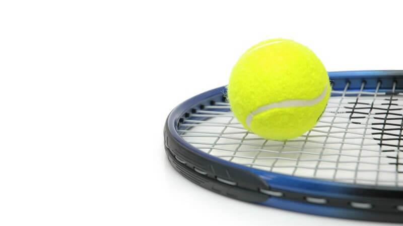 Geregelte Anforderungen an einen Tennisball nach Angaben der ITF