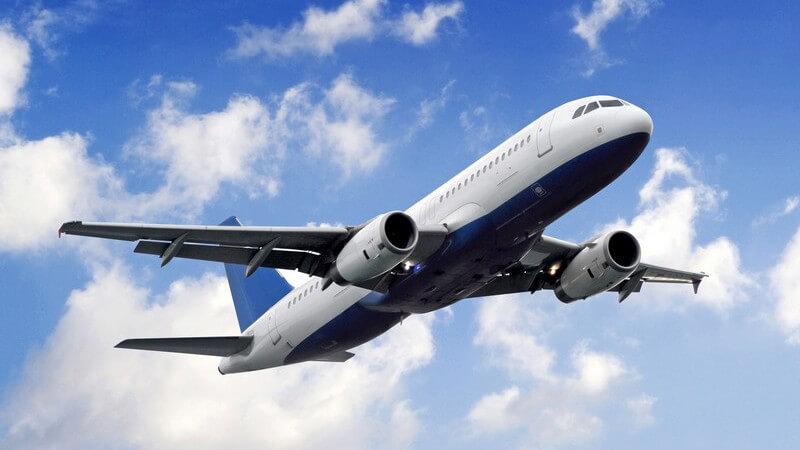 Schon in der Renaissance wurde an den ersten Fluggeräten gearbeitet - heutzutage spielen Zivil- und Frachtenflugzeuge sowie Militärfluggeräte eine Rolle