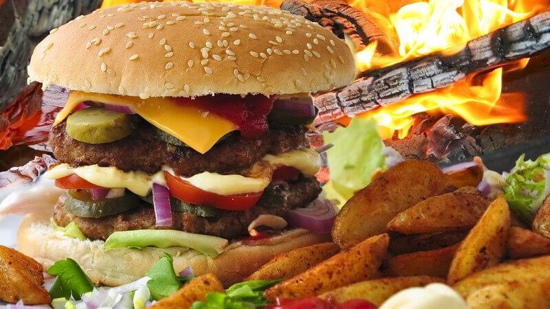 Von Chicken Wings bis Pumpkin Pie - (Kulinarische) Angebote eines amerikanischen Restaurants