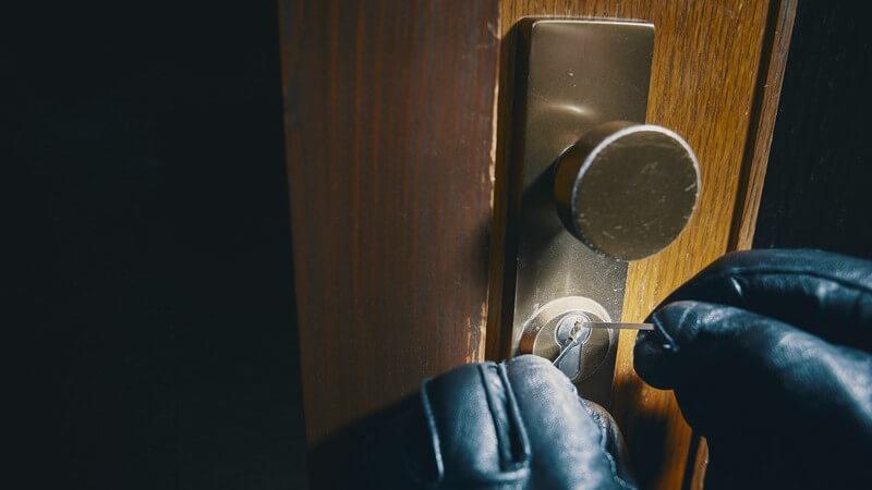 Haus und Wohnung einbruchsicher machen