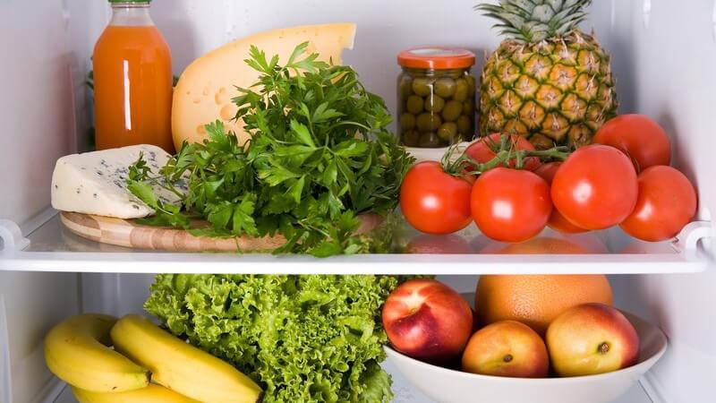Wann Gemüse in den Kühlschrank oder in die Speisekammer gehört