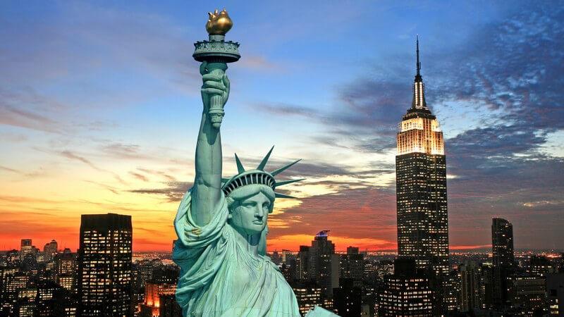 """""""Liberty Enlightening the World"""" - Wissenswertes zur Freiheitsstatue"""