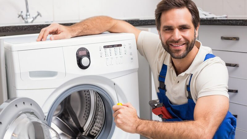 Reine Wäsche dank Waschmaschine