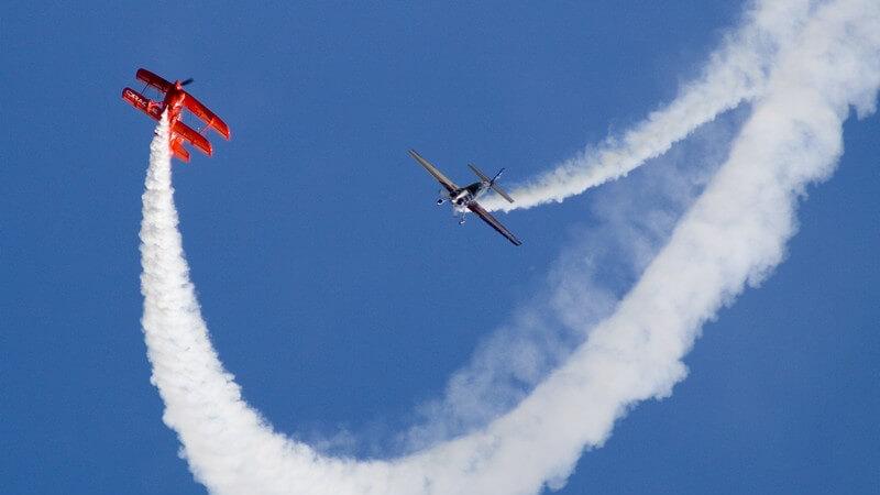 Die verschiedenen Flugzeugkategorien und Figuren beim Kunstflug