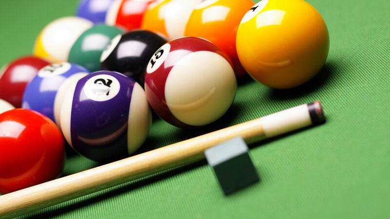 Billard-Spielarten - von Poolbillard bis Carambolage