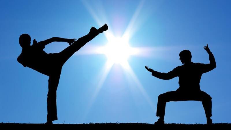 """Das Ju Jutsu besteht aus 12 verschiedenen Elementen - bei der """"sanften Kunst"""" wird in Schüler- und Meistergrade unterteilt"""