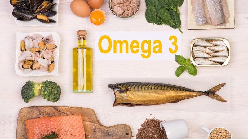 Nahrungsmittel mit hohem Omega-3-Fettgehalt