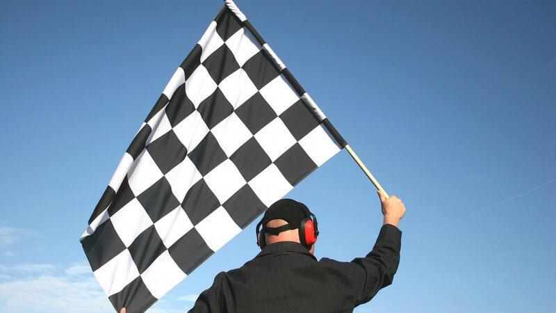 Flaggen im Sport