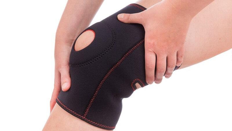 Die Wirkungsweise einer Kniebandage - zur unterstützenden Heilung einer Sportverletzung