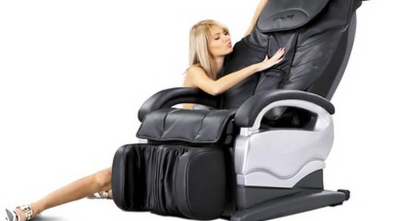 Entspannung im Massagesessel oder Massagestuhl