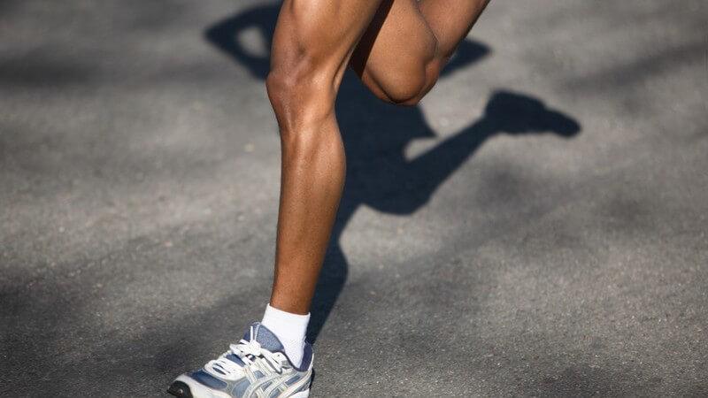 Laufschuhe - Wichtig sind Stabilisierung und Dämpfung
