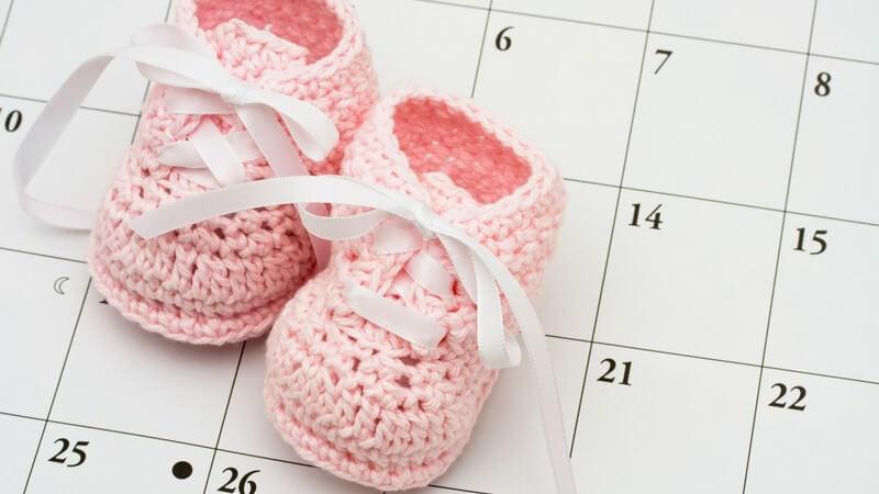 Die Schwangerschaft in 42 Wochen - von der Befruchtung bis zur Geburt