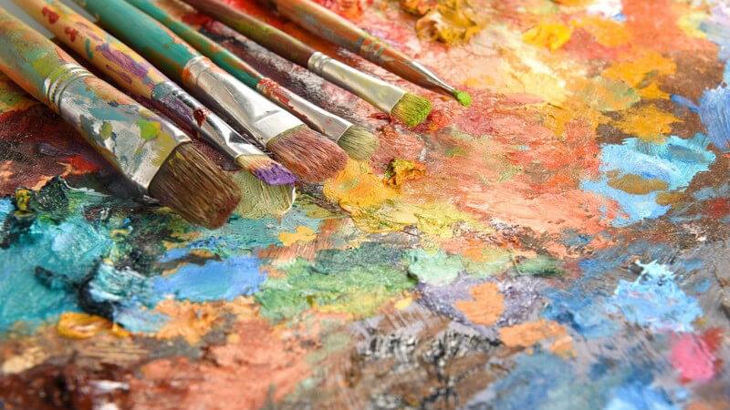 Wirkung und Anwendungsgebiete verschiedener Farben