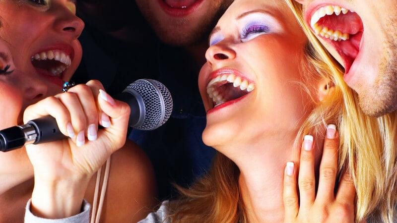 Im Bereich des Gesangs gibt es unterschiedliche Formen - Wir geben einen Überblick über unterschiedliche Singstile