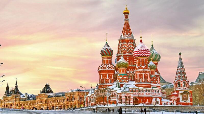 Sehenswertes im Reiseziel Russland