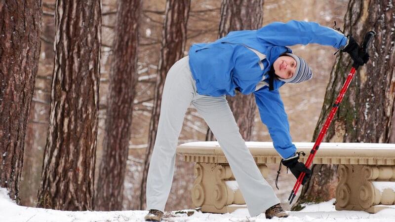 Fit durch die kalte Jahreszeit: Training bei Wind und Wetter