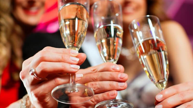 Man unterscheidet mitunter das Martiniglas, das Shooter Glas, die Cocktailschale oder das Nosing Glas