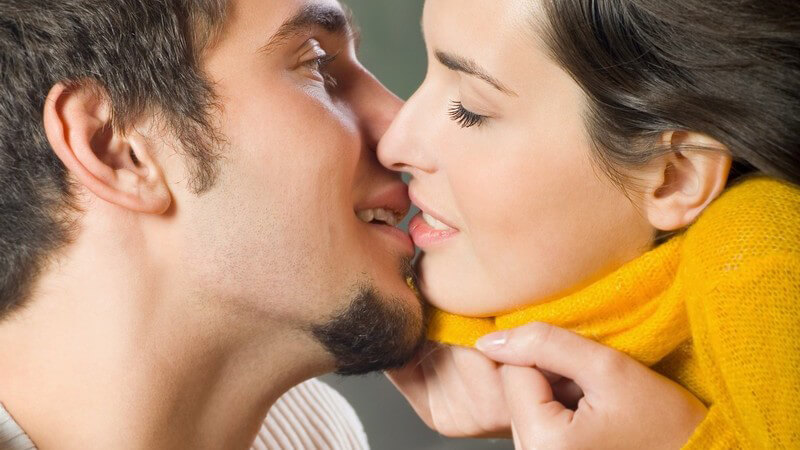 Sieben Hinweise für einen bevorstehenden Kuss