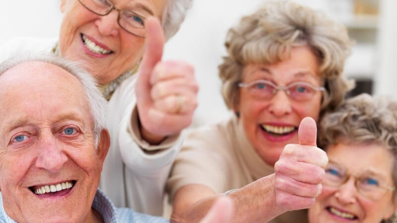 Wohngemeinschaft unter Senioren