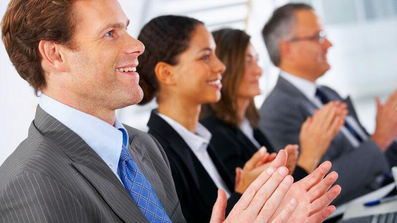Präsentation im Meeting - Worauf kommt es an?