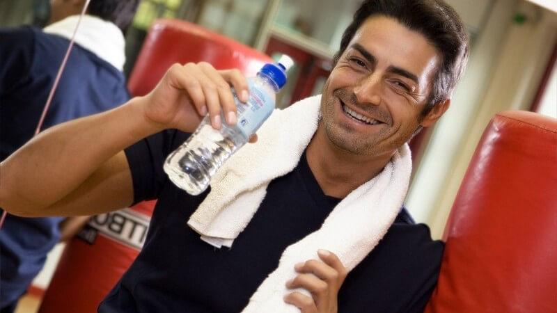 Radtouren, Wanderungen oder Fitnesstraining - Nutzen von Trinkflaschen