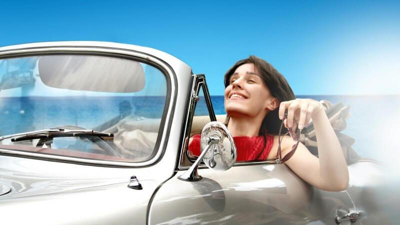 Damit Sie bei einer Fahrt im Cabrio den Alltagsstress vergessen können, bedarf es eines stilechten Stylings