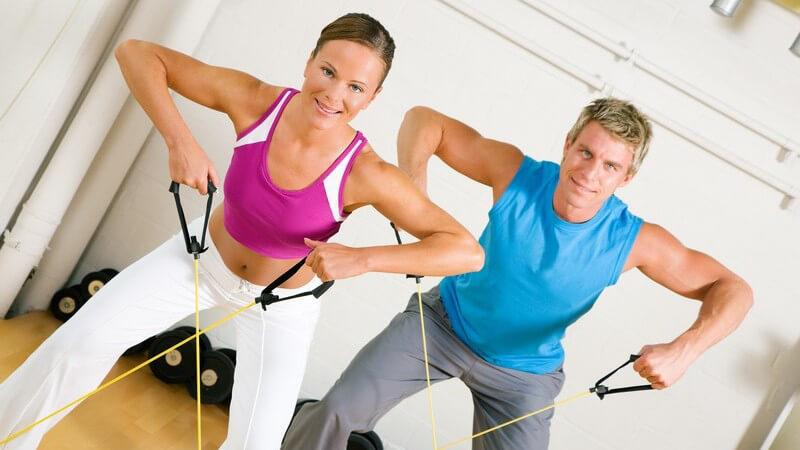Rund um das Training im Fitness-Studio