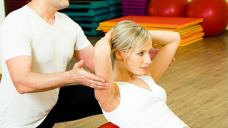 Die Propriozeptive Neuromuskuläre Faszilitation zur Stärkung geschwächter Muskelgruppen und zum Training von Reflexen