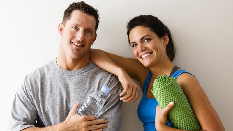 Mit dem Trainingspartner ins Fitness-Studio - Tipps zur Auswahl und effektiven Arbeitsweise