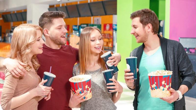 Der Kinobesuch sorgt für einen unterhaltsamen Nachmittag oder Abend für Groß und Klein - Es gibt unterschiedliche Kinoarten und auch das Filmeangebot ist vielfältig