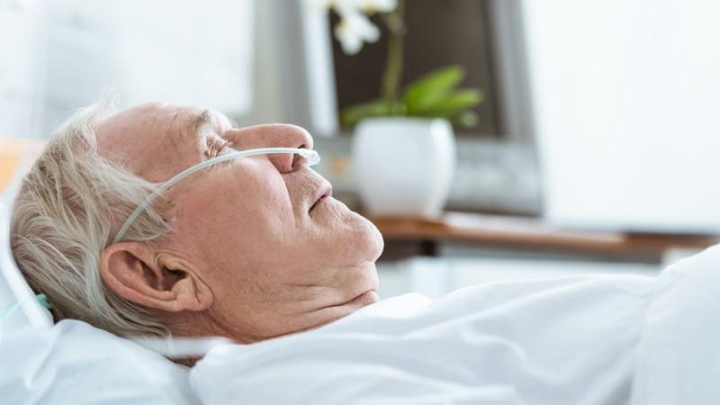 Patient im Koma