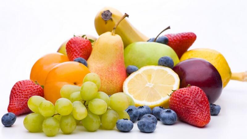 Vitamine, Mineralstoffe, Spurenelemente - Nahrung wie Obst- und Gemüsesorten, die gegen Stress hilft