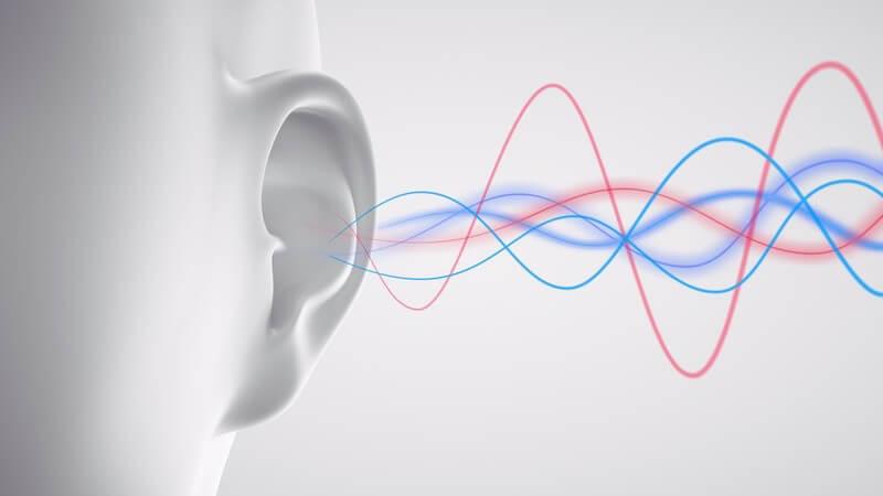 Ist man auf Dauer übermäßigem Gerätelärm ausgesetzt, kann sich dies negativ auf die Ohren auswirken