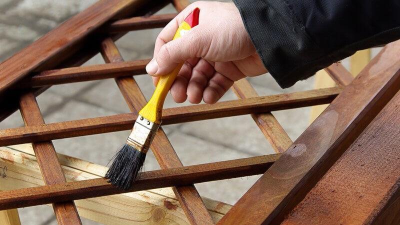 Holzmöbel richtig pflegen