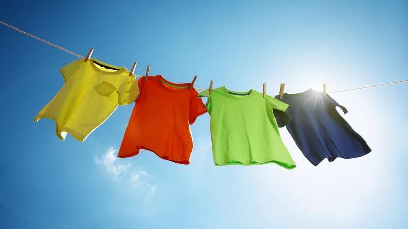 Hinweise zur Reinigung von Sportbekleidung