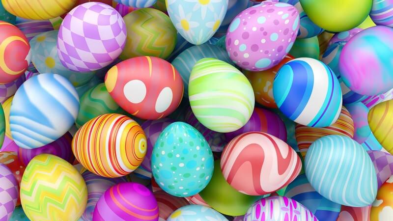 Typisch Ostern - auch an diesen Feiertagen wird besonderes Essen serviert - besonders schön ist es