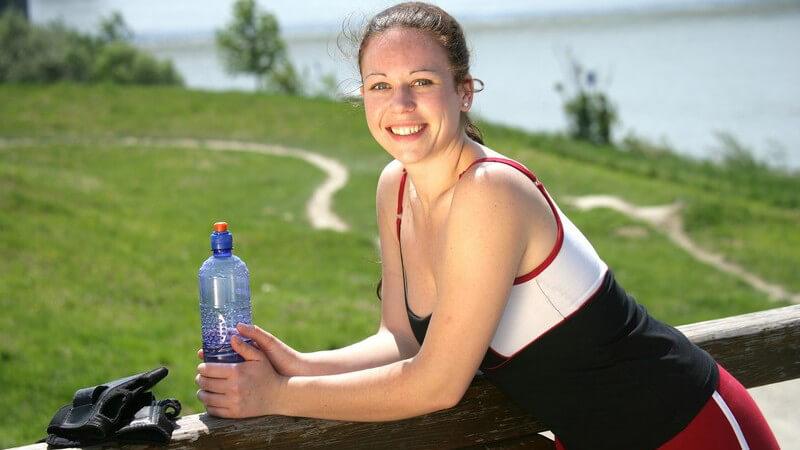 Für eine ausreichende Versorgung mit Flüssigkeit und ein optimales Trainingsergebnis