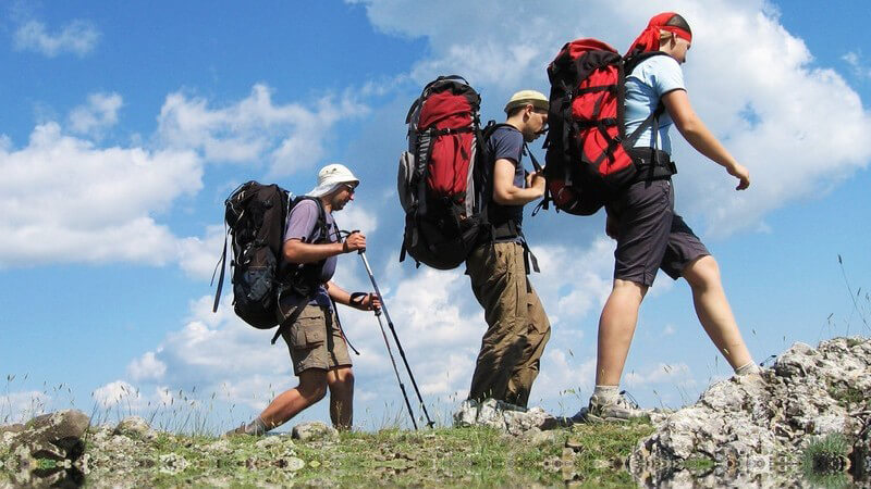 Wandern, um die Sonne zu genießen oder um sich in ein Abenteuer zu stürzen - es gibt verschiedene Wandertypen, die den Sport aus unterschiedlichen Gründen ausüben