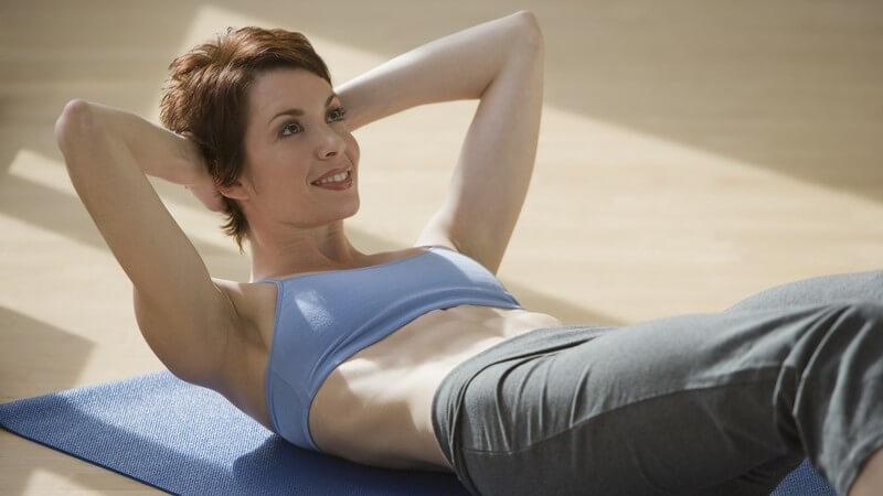 Durch Training fit bleiben