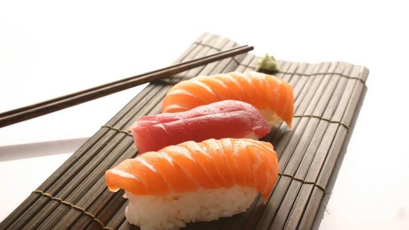 Wird gerne für Sushi sowie für Fertiggerichte mit Meeresfrüchten verwendet