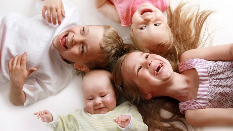 Wissenswertes zur Lernbereitschaft und unterschiedlichen Lernprozessen von Kleinkindern und Mögliche Entwicklungsunterschiede zwischen Einzel- und Geschwisterkindern