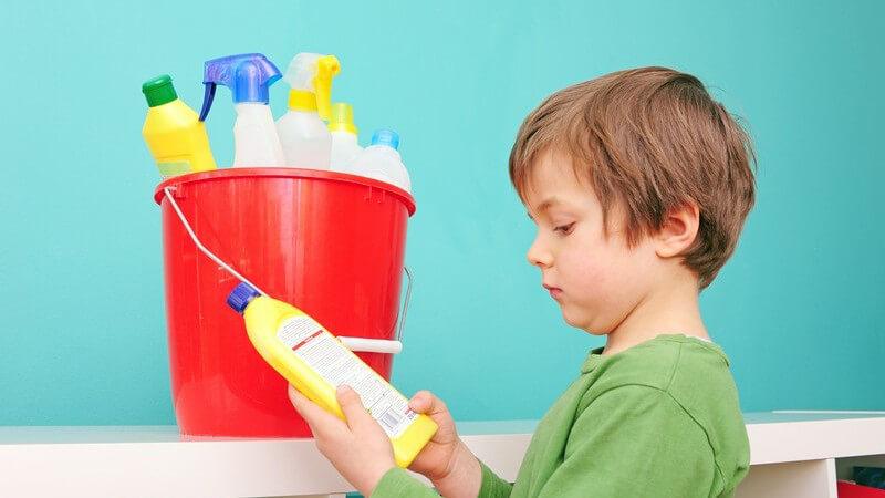 Welche Reinigungsmittel in jedem Haushalt zu finden sein sollten und wie ein bewusster Umgang damit aussieht