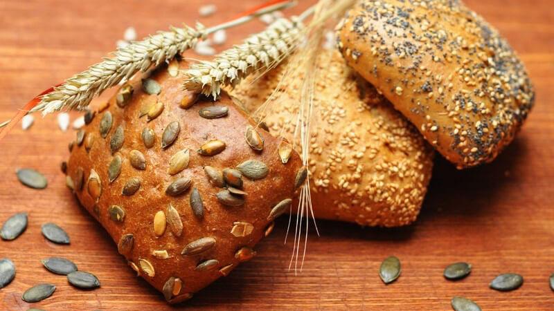 Infos über unterschiedliche Sorten von Brot wie Weizenbrot, Weizenmischbrot, Roggenbrot, Roggenmischbrot, Spezialbrote und ungewöhnliche Varianten