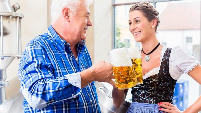 Schon im 11 Jahrhundert wurde hierzulande Bier gebraut