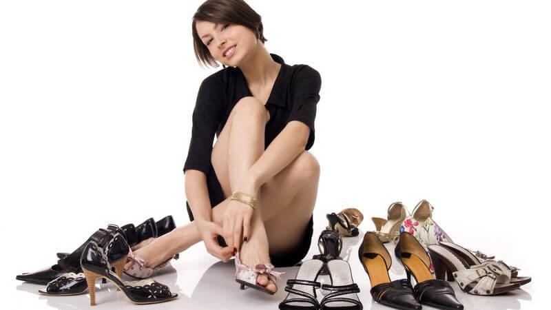 Wie sehen die beliebtesten und landestypischen Schuhe in England, Italien, Spanien, Portugal und Brasilien aus?