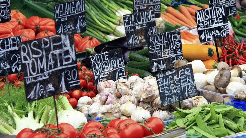Infos zum Wochenmarkt, Kunst- und Handwerksmarkt (Töpfermarkt) sowie Mittelaltermarkt
