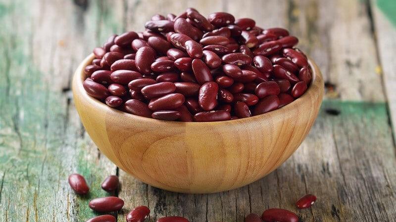 Es gibt zahlreiche Bohnensorten mit ebenso zahlreichen Zubereitungsmöglichkeiten
