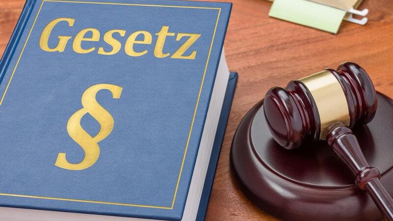 Merkmale unterschiedlicher Rechtsgebiete